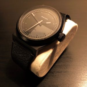 Diesel Leather Watch